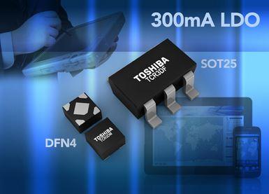 Régulateurs CMOS-LDO avec 300 mA de courant de sortie