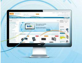 Farnell element14 renouvelle la plate-forme de son site de ventes en ligne