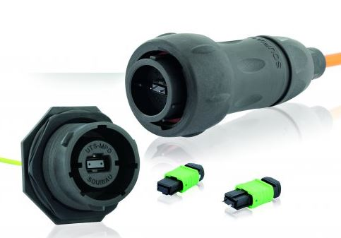 Connecteur fibre optique multivoie UTS MPO