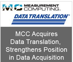 Acquisition de données : Measurement Computing rachète Data Translation
