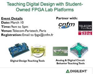 Un atelier de conception numérique destiné aux professeurs passe par Paris