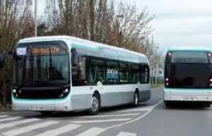 Première ligne de bus 100% électrique à Paris avec Bluebus