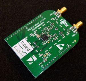 RS Components distribue les kits de développement LoRaWAN de Semtech