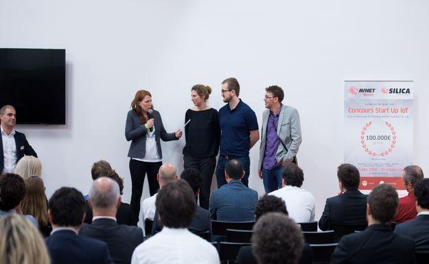 Start-up de l'IoT : EMY remporte le concours organisé par Avnet Memec – Silica