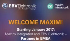 EBV Elektronik signe un accord de distribution européen avec Maxim