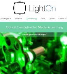 Co-processeur optique : LightOn remporte le prix des start-up normaliennes