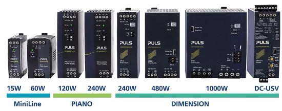 Digi-Key  distribue les alimentations à rail DIN de PULS