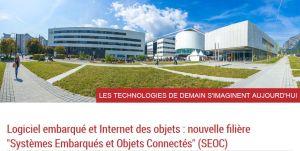 Grenoble lance une formation systèmes embarqués et objets connectés