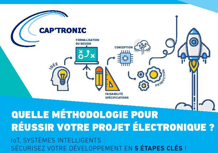 Cap'Tronic lance un guide gratuit pour réussir son projet IoT