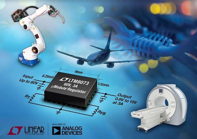 Régulateur µModule, 60V, 3A en sortie | Linear Technology