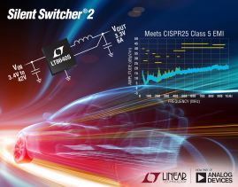 Régulateur Silent Switcher, abaisseur, synchrone, 42V, 6A en sortie | Linear Technology