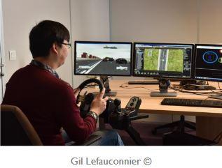 L'IRT SystemX s'associe à Optis pour simuler le véhicule autonome