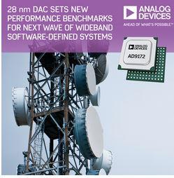Convertisseur numérique/analogique 28 nm | Analog Devices