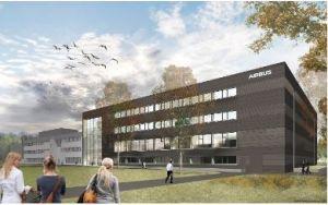 Airbus démarre la construction d'un centre de 43 M€ pour les satellites