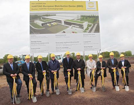 Harting investit 40 M€ dans un centre logistique en Allemagne