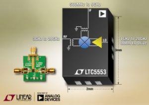 Mélangeur très large bande, 3GHz à 20GHz | Linear Technology