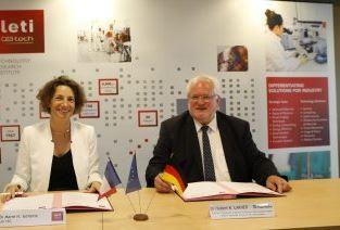 Le Leti et l'Institut Fraunhofer renforcent leur coopération de R&D en microélectronique