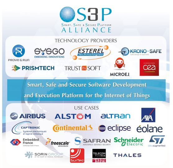Safran, partenaire du projet S3P de plateforme sécurisée de programmation d'objets connectés