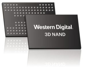 Mémoire flash 3D à 96 couches    Toshiba, Western Digital