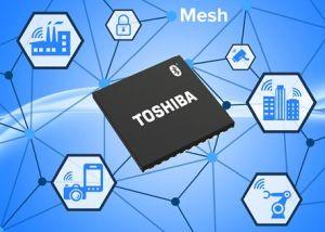 La gamme de produits Bluetooth Low Energy de Toshiba supporte Bluetooth Mesh