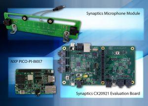 Kit de développement avec commande vocale pour périphériques connectés | Arrow Electronics, Synaptics et NXP