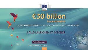 30 milliards d'euros pour le programme européen Horizon 2020 entre 2018 et 2020