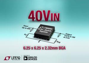 Régulateur 2,5A, 42V en entrée, en boîtier BGA | Linear Technology
