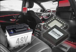 Convertisseur DC/DC avec MOSFET intégré pour systèmes automobiles 48 V | ROHM