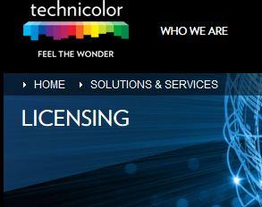 Technicolor négocie la vente de son activité de licences de brevets