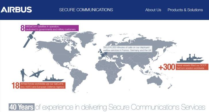 Airbus remporte le contrat de téléphonie du ministère français des Armées