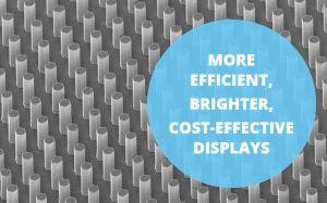 Afficheurs à LED 3D : le Grenoblois Aledia lève 30 M€ et collabore avec Intel