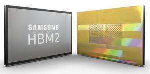Mémoire DRAM  8 Go avec un débit de 2,4 Gbit/s sous 1,2 V   Samsung