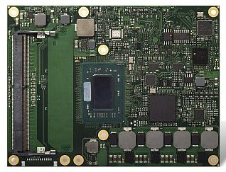 Module COM Express Type 6 avec processeurs embarqués AMD Ryzen V1000   Congatec