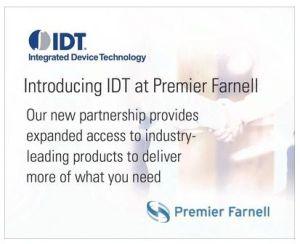 Premier Farnell signe un accord de distribution avec IDT