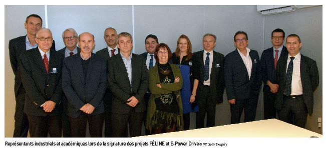 Deux projets pour le passage à propulsion électrique pour l'IRT Saint Exupéry
