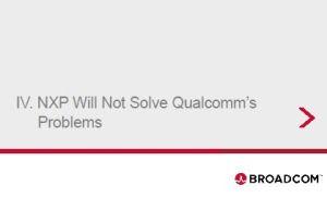 Nouveau : Qualcomm et Broadcom entament un dialogue… de sourds
