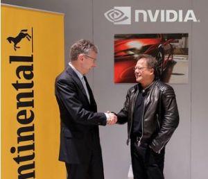 Intelligence artificielle : Continental embarque Nvidia dans la création de voitures autonomes