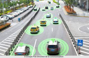 PSA et Qualcomm accélèrent sur la communication entre véhicules C-V2X