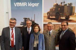 Nexter remporte le contrat de 689 VBMR légers