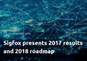 Sigfox prévoit de connecter 6 millions d'objets à la fin de l'année