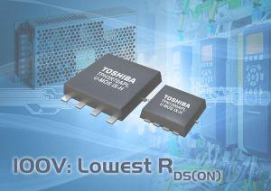 MOSFET de puissance 100V canal-N pour applications industrielles | Toshiba