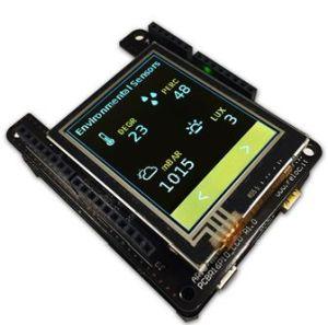 Kit de développement d'applications IoT alimentées par batterie avec écran TFT   Arrow