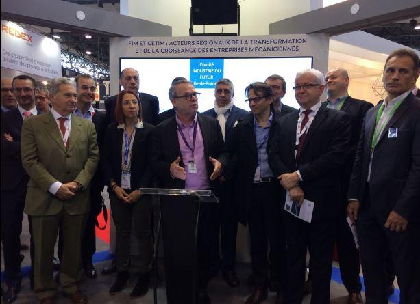 Global Industrie : le Comité Industrie du Futur Ile-de-France inauguré ce 29 mars