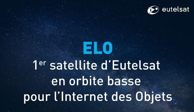 Eutelsat va lancer un satellite destiné à l'IoT avec la technologie Sigfox