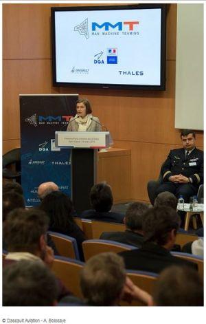 100 millions d'euros pour doter les militaires d'intelligence artificielle