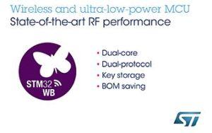 Système sur puce multi-protocoles Bluetooth et 802.15.4  | STMicroelectronics
