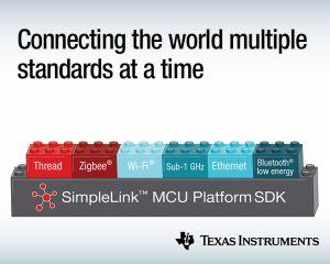 Microcontrôleurs multiprotocoles et multibandes via Thread, ZigBee, Bluetooth 5 et fréquences inférieures à 1 GHz   Texas Instruments