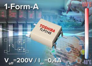 Photo-relais moyenne tension à courant élevé en boîtier miniature | Toshiba