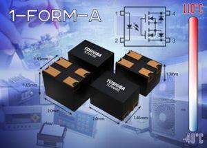 Gamme de photo-relais pour transmission de signaux rapides   Toshiba