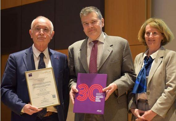 Santé et sécurité au travail : Axon' Cable première entreprise certifiée ISO 45001 en France